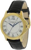 Raymond Weil Men's Leather Strap Watch