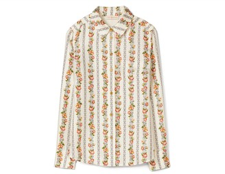Tory Burch Brigitte Printed Blouse