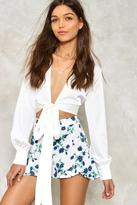 Nasty Gal Since You Asked Floral Shorts