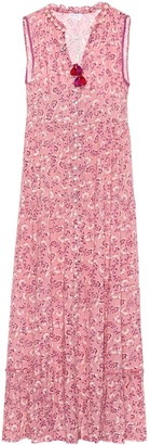 Poupette St Barth Clara floral maxi dress
