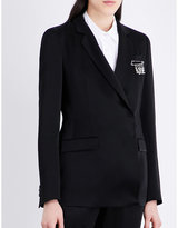 Christopher Kane Safety pin satin jacket