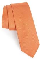The Tie Bar Men's Pinstripe Silk & Linen Tie