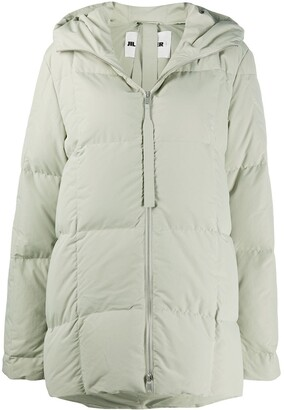 Jil Sander Padded Down Coat