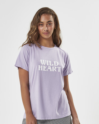 Charlie Holiday Wild Heart Everyday Tee