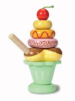 Le Toy Van Ice Cream Sundae Stacking Set in Green