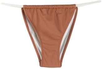 Solid & Striped string bikini bottoms