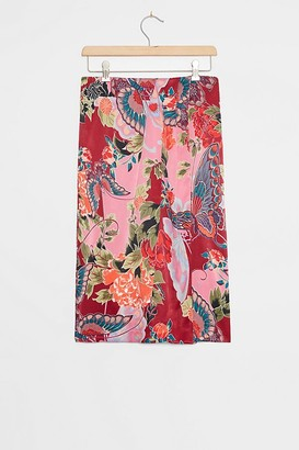 Anthropologie Mariana Sarong Midi Skirt