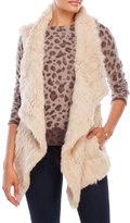 love token Chloe Open Rabbit Fur Vest