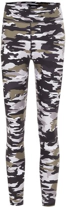 The Upside Pearl Camo high-rise leggings