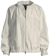 Herno Ruched Metallic Jacket