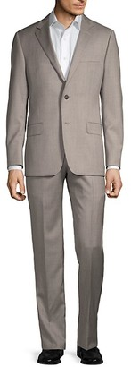 Hickey Freeman Classic Fit Milburn IIM Series Wool Suit