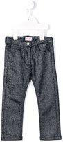 Il Gufo metallic jeans
