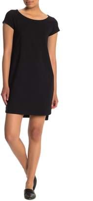 Eileen Fisher Wide Crop Leg Jumpsuit (Petite)