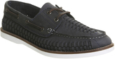 Office Fletcher Woven Boat Shoes