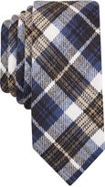 Original Penguin Men's Reeves Plaid Skinny Tie