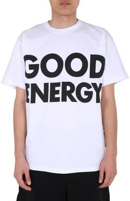 Moschino Slogan Printed T-Shirt
