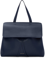 Mansur Gavriel Navy Leather Lady Bag
