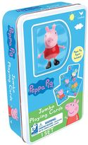 Cardinal Peppa Pig Jumbo Playing Cards & Figure Set by