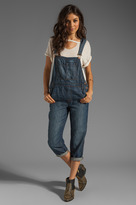 J Brand Cropped Overalls