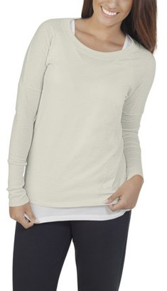 Fruit of the Loom Women?s Athleisure Essentials Soft Long Sleeve Scoop Neck T-Shirt