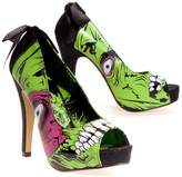 Iron Fist Zombie Stomper Women US 6 Open Toe Platform Heel