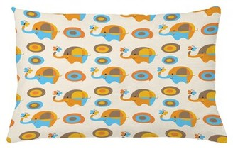 "East Urban Home Indoor / Outdoor Lumbar Pillow Cover Size: 16"" x 26"""