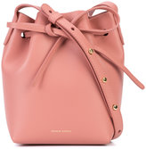 Mansur Gavriel drawstring bucket bag - women - Leather - One Size