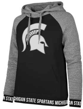 '47 Women's Michigan State Spartans Encore Revolve Hooded Sweatshirt