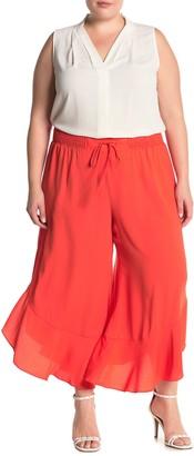 Rachel Roy Giorgia Ruffle Pants (Plus Size)