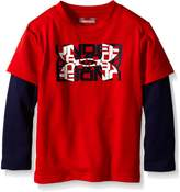 Under Armour Toddler Boys' Slider Long Sleeve Shirt