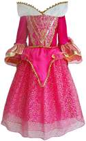 JiaDuo Baby Girls Princess Costume Party Gown Dress Up 4-5