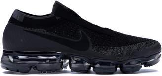 buy sale cheapest price fast delivery Nike VaporMax SE Laceless Triple Black - ShopStyle