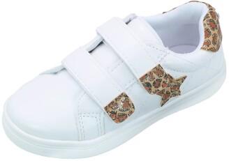 Nicole Miller Leopard Print Glitter Sneaker