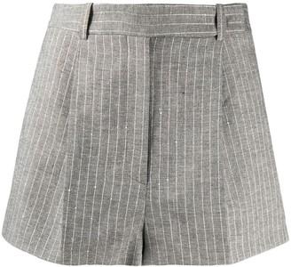 Ermanno Scervino Pinstriped Tailored Shorts
