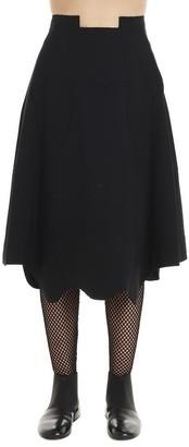 Comme des Garcons A Line Asymmetric Skirt
