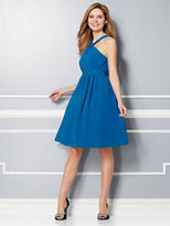 New York & Co. Eva Mendes Party Collection - Samantha Chiffon Dress