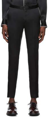 Casablanca Black Silk De Soiree Pyjama Trousers