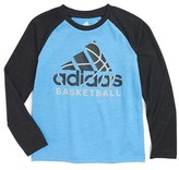 adidas Boy's Sport Graphic Baseball T-Shirt