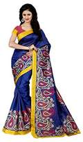 Trendz Jewellery Trendz Cotton Silk Saree (Tz_Red_Mango_)