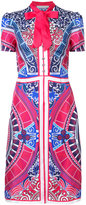 Mary Katrantzou Roulette skater dress - women - Silk - 10