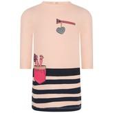 Little Marc Jacobs Little Marc JacobsBaby Girls Pink Pocket Print Dress
