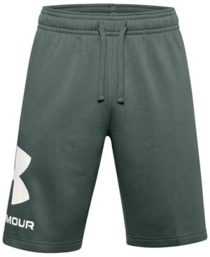 """Under Armour Men's Rival Fleece Wordmark Logo 10"""" Shorts"""