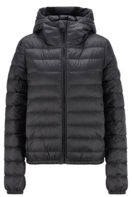 HUGO BOSS Packable down jacket in water-repellent fabric