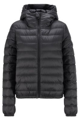 HUGO BOSS Packable down jacket in water-repellent fabric