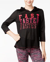 Energie Active Juniors' Fiona Tulip-Back Graphic Hoodie