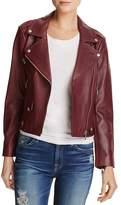 Rebecca Minkoff Wes Mesh-Back Moto Jacket