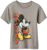 "Disney Disney's Mickey Mouse Toddler Boy ""Mickey"" Classic Graphic Tee"