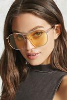 Forever 21 Semi-Rimless Aviator Sunglasses