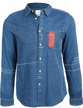 Paul Smith Tailored Fit Button Down Shirt
