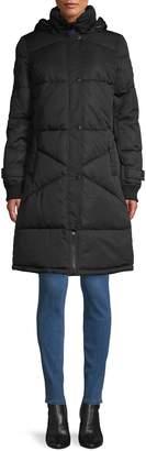 Nautica Water-Resistant Puffer Coat